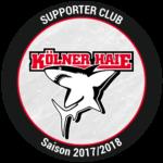 Kölner Hai Logo Sponsor Kölner Hausmeisterteam