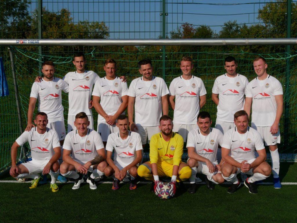 Mannschaftsfoto Kölner Team